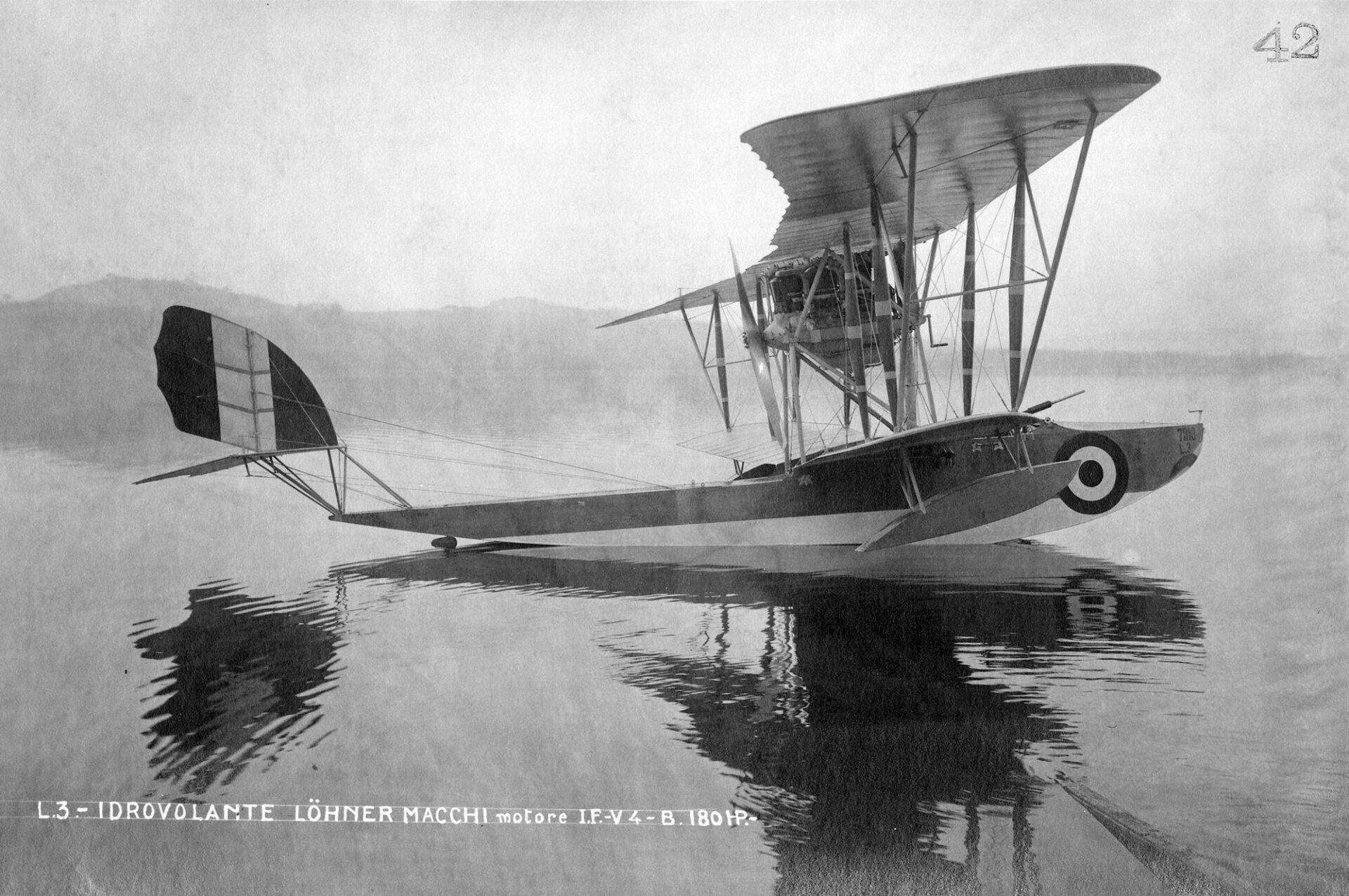 1915-1917 – Idrovolante Macchi L3