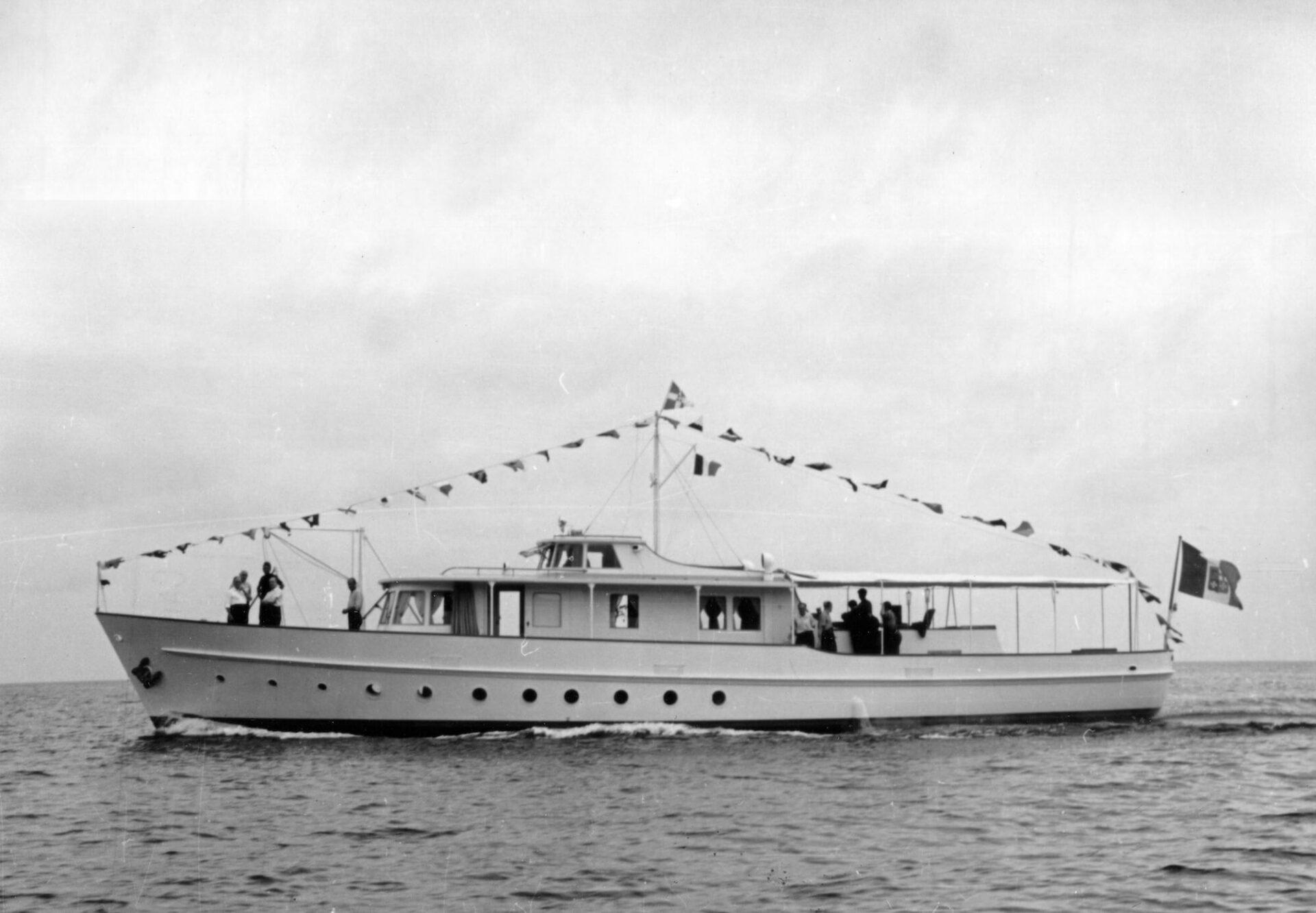 1952 -Montecristo, motoryacht