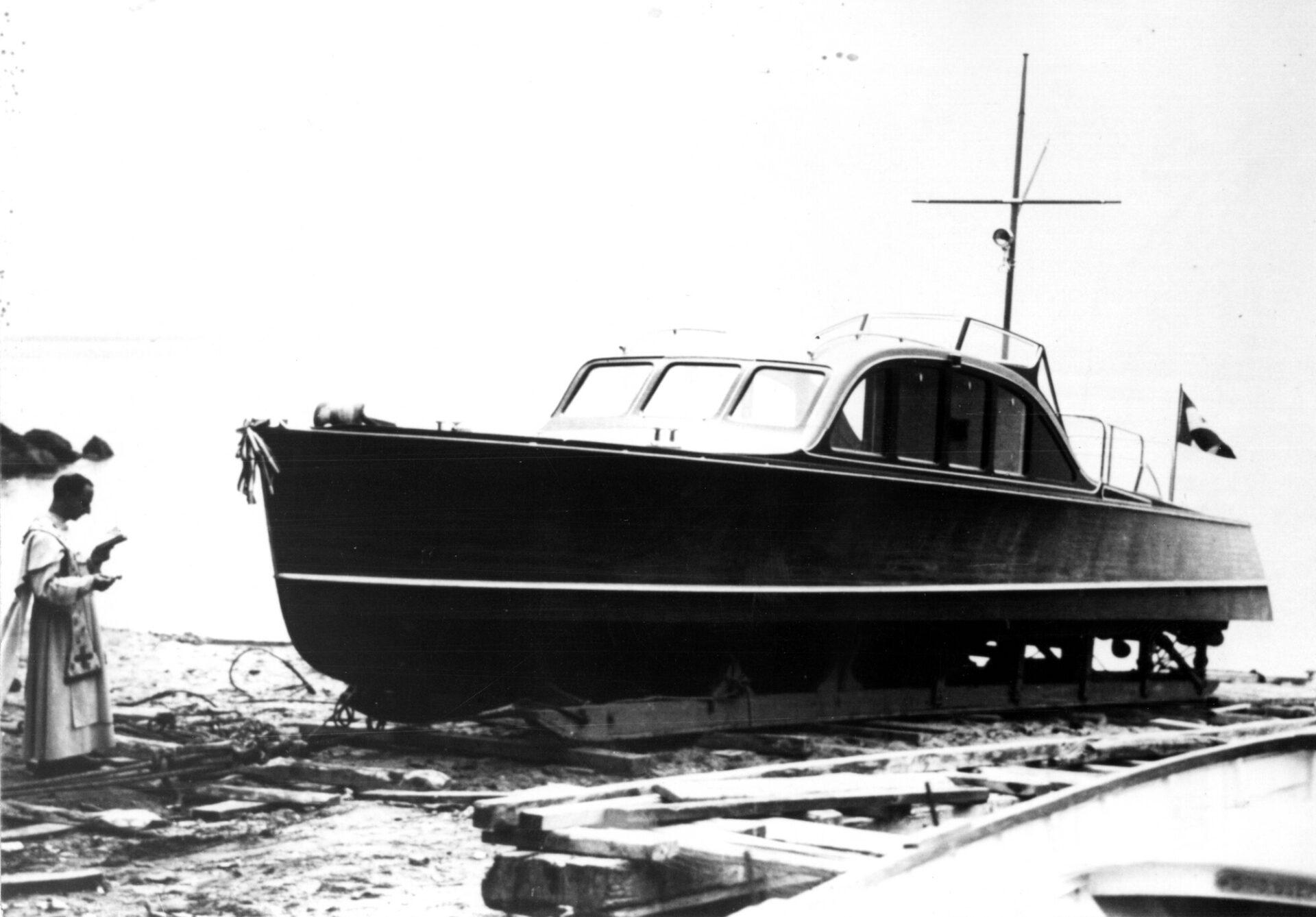1938 – Varo del motoscafo per il Re Vittorio Emanuele III