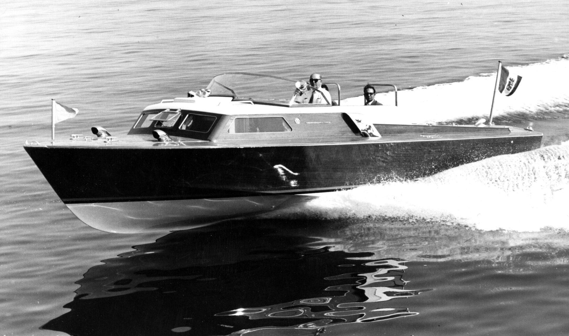 1958 – Leopolda motoscafo per Giovanni Agnelli