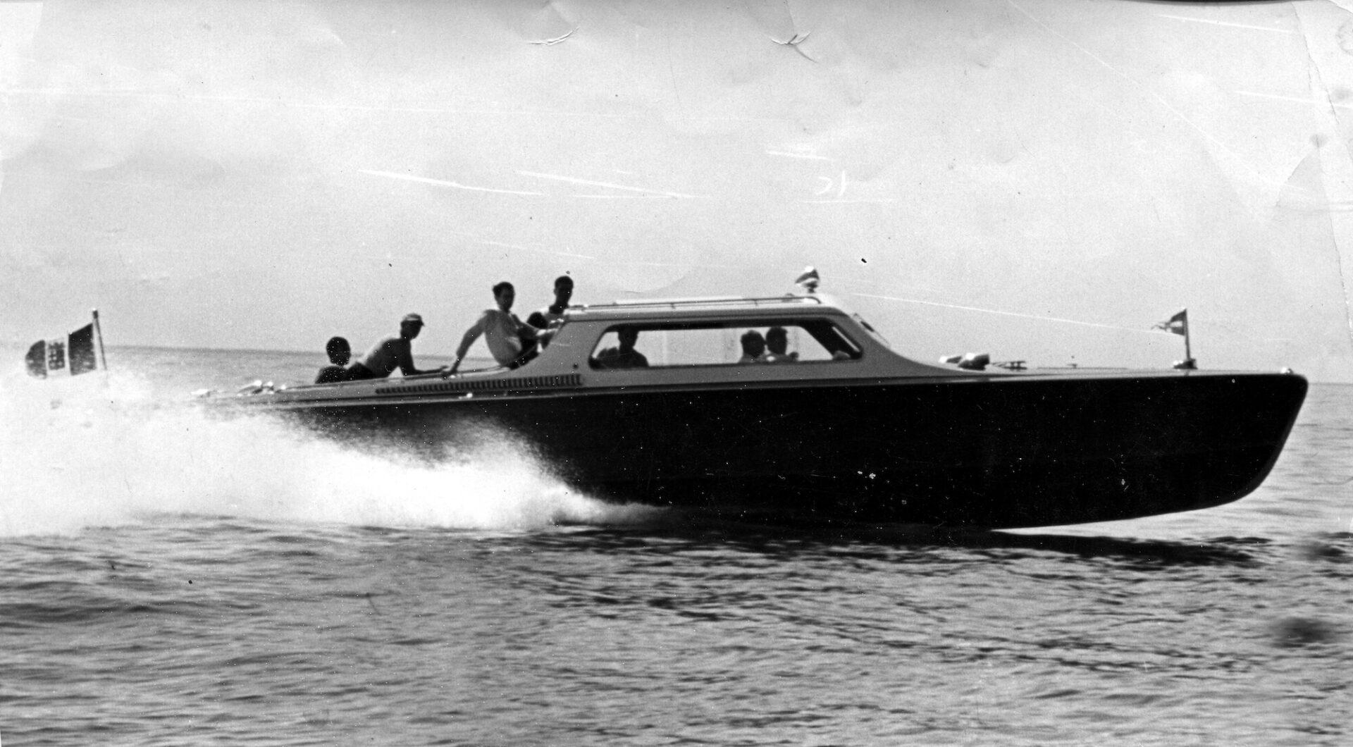 1951 – Covenant durante le prove di velocità