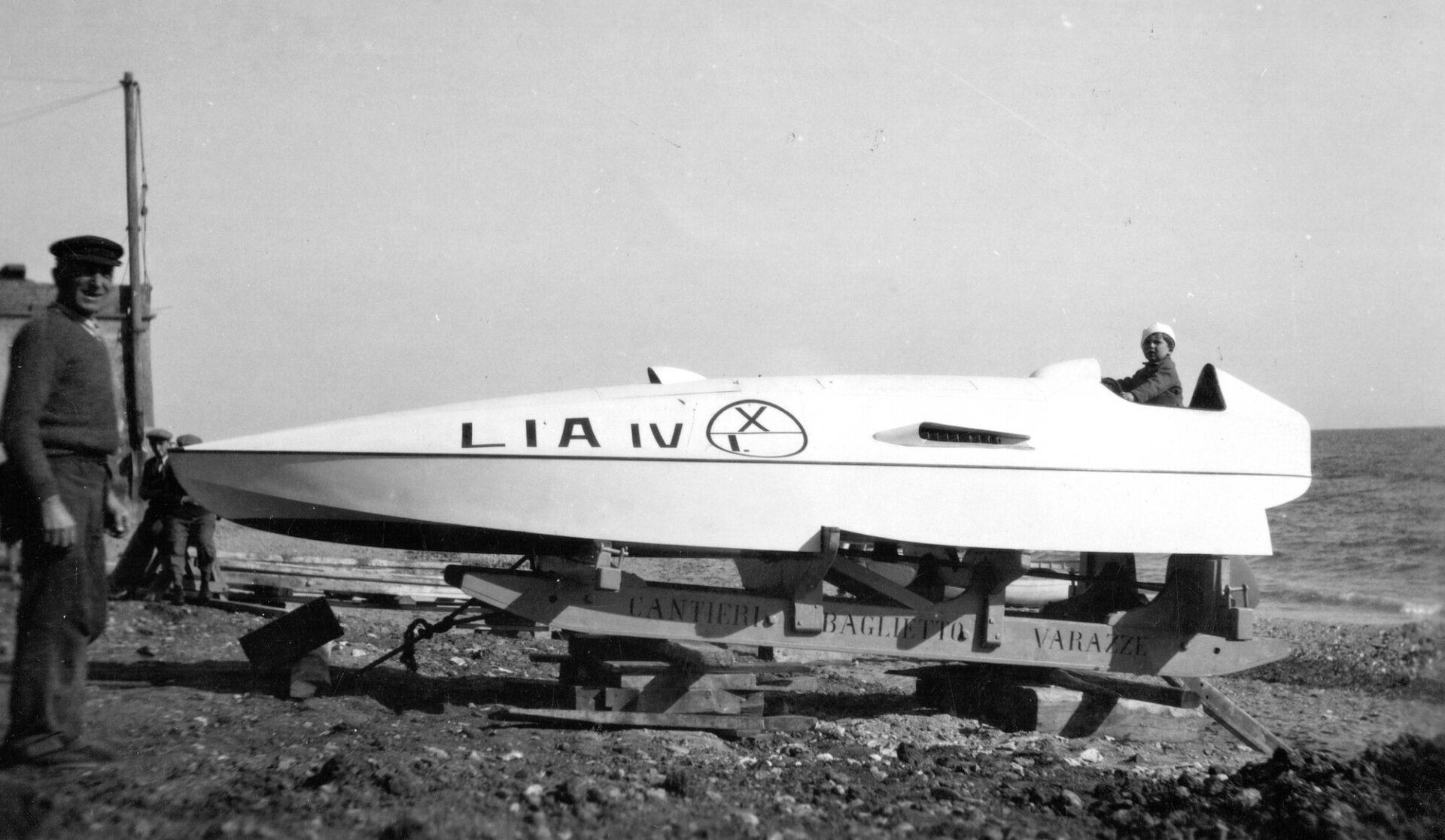 1934 - Racer Lia IV di Antonio Becchi