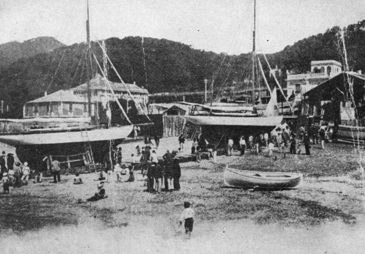 1905- Cutter Sirio e Rigel in costruzione
