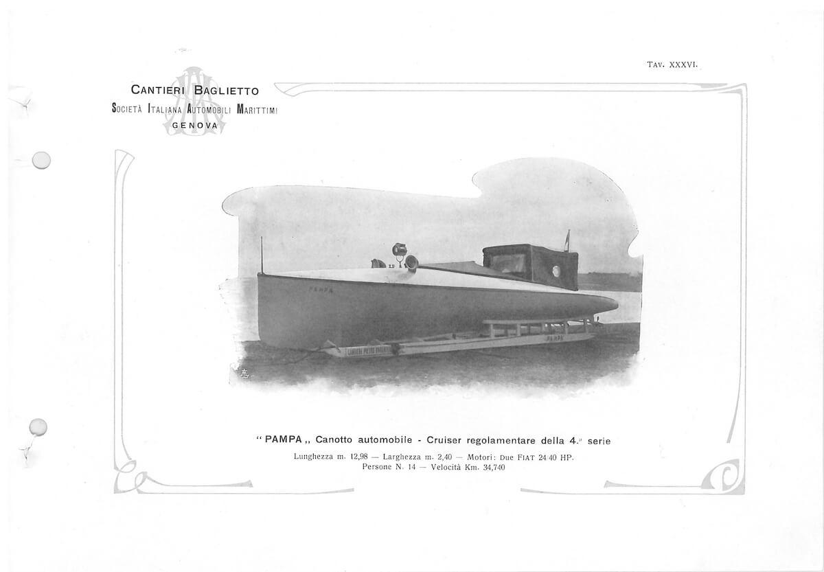1906 - Canotto Automobile Pampa