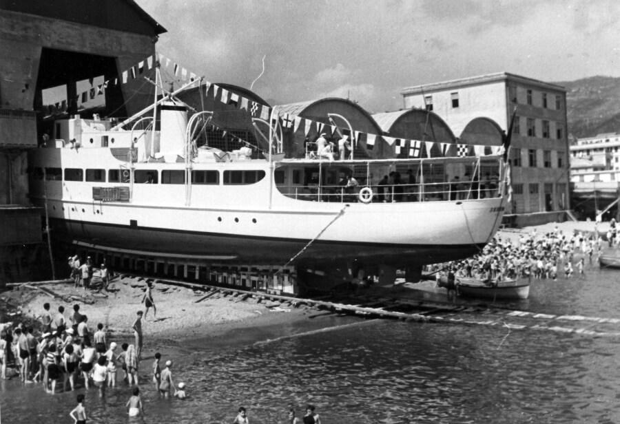 1950 -Varo del panfilo Sereno per A.Rizzoli
