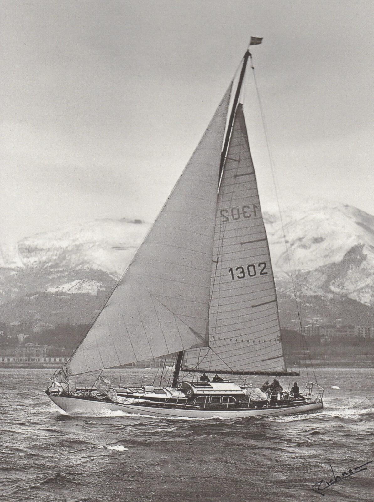 1953 - EA davanti a Genova