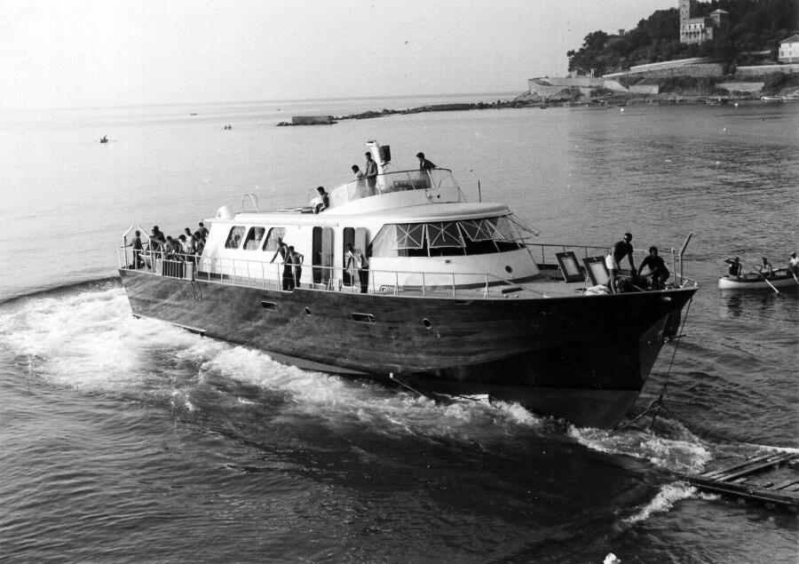 1961 – Varo del GA 30 per Giovanni Agnelli