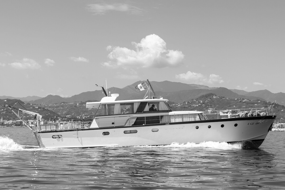 1964 - Motor Yacht serie Minorca in navigazione