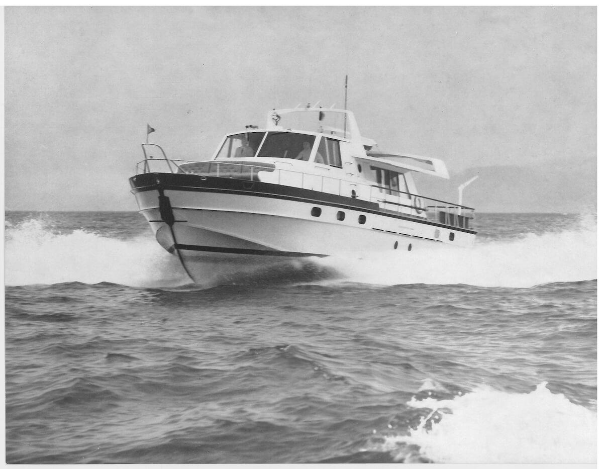 1964 - Carostefal Motor Yacht 18M per il principe Ranieri di Monaco