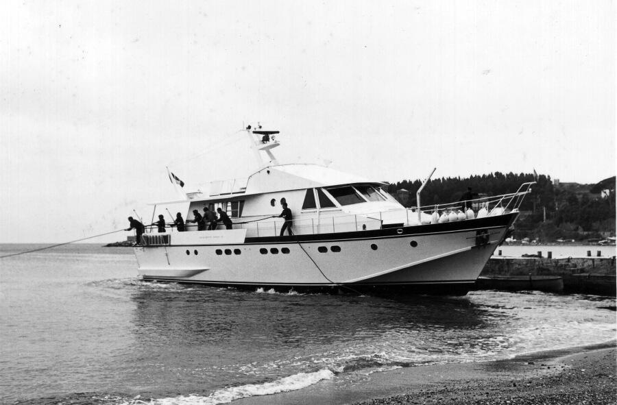 1970 – Varo di un Motor Yacht serie 20M