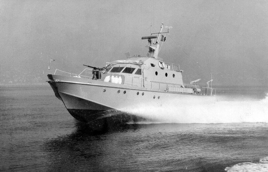 1970-1978 - Motovedetta Classe Meattini per la Guardia di Finanza Italiana