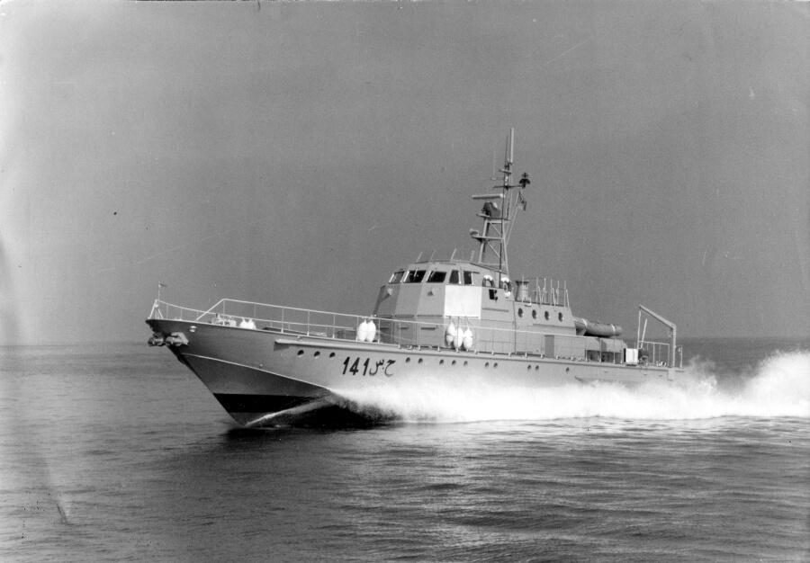 1978 - Pattugliatore per la Marina Algerina