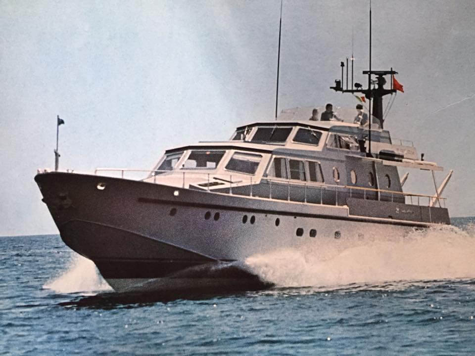 1975 - Tazah Motor Yacht serie 26M in navigazione