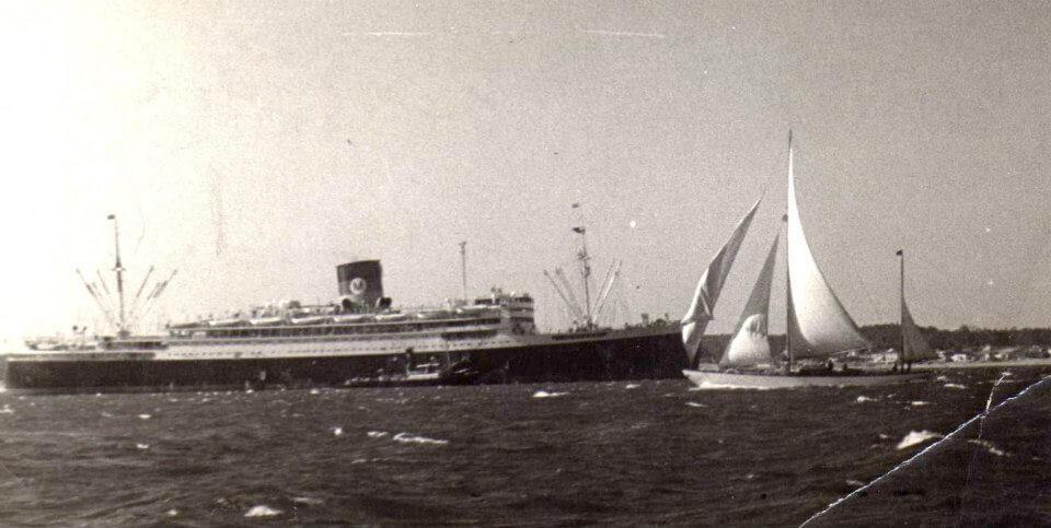 1948 – Caroly in navigazione