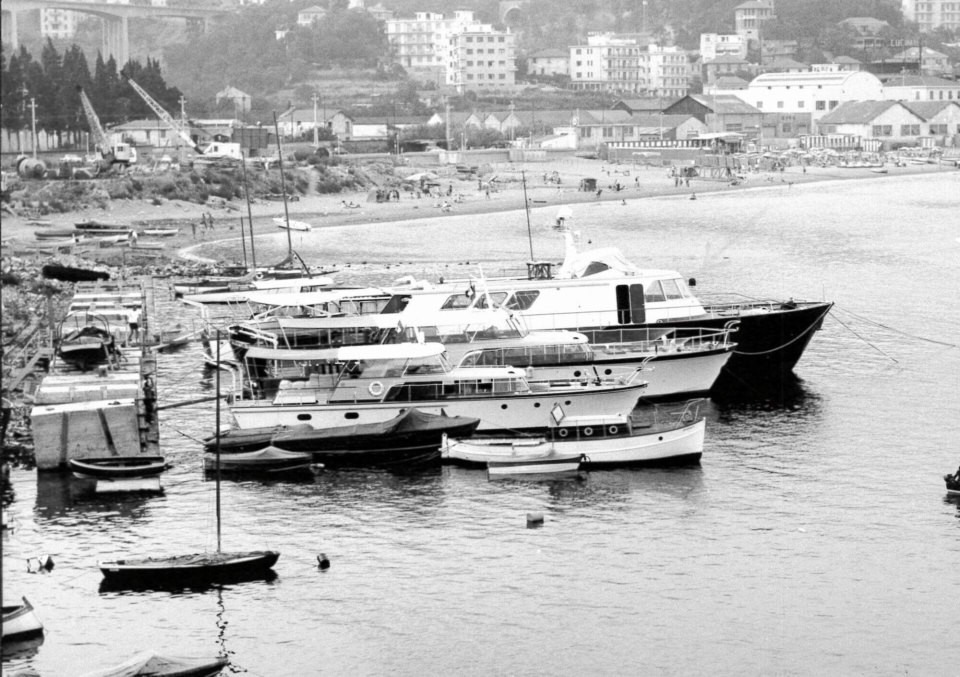 1961 – GA 30, Ischia ed Elba in porto a Varazze