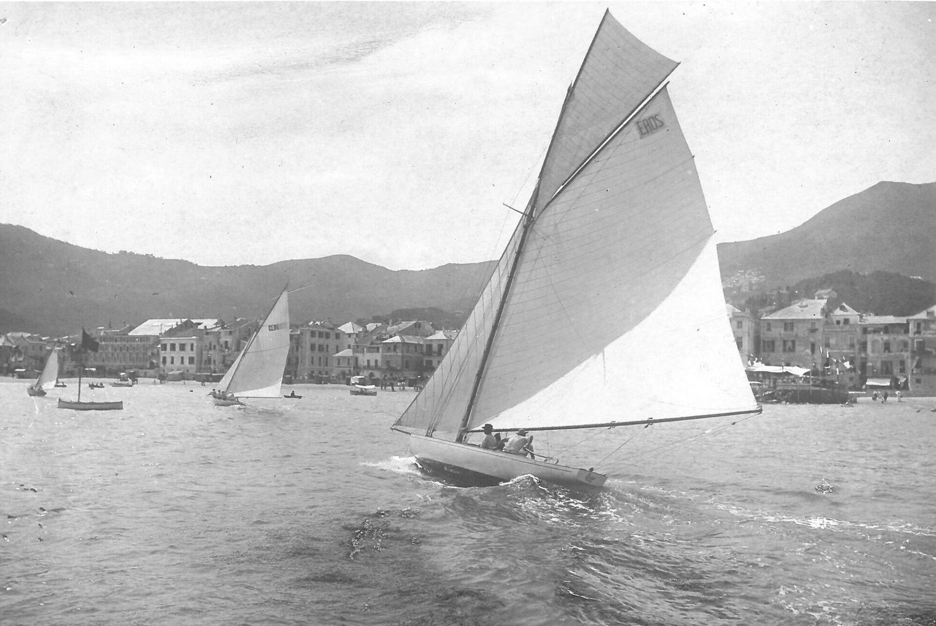 1903 – Glin Glin in regata