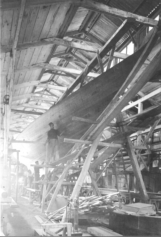 1925 –Cheta 8M S.I. in costruzione