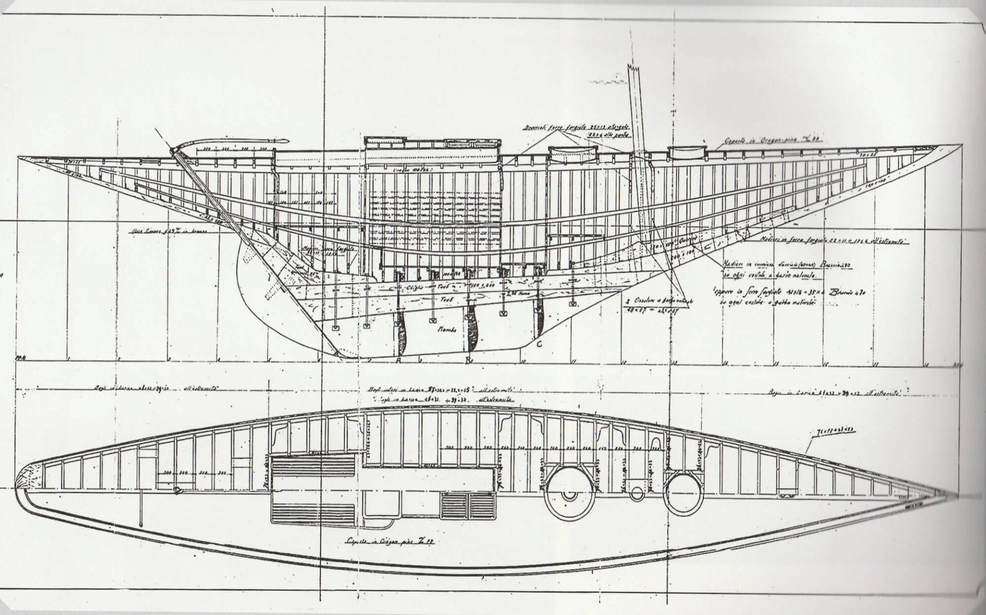 1928 – Piani di costruzione per Vega 8M S.I.