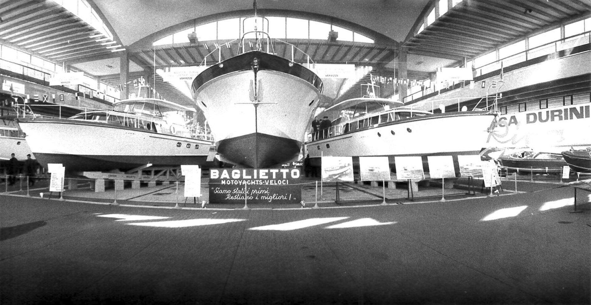 1962 – Motor Yacht della serie delle Isole al Salone Nautico di Genova