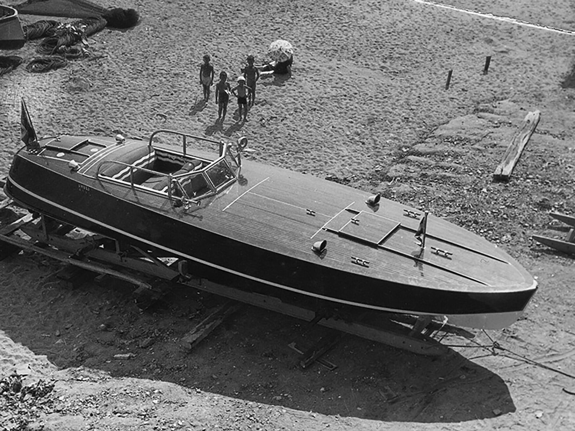 1933 - Ambro, motoscafo
