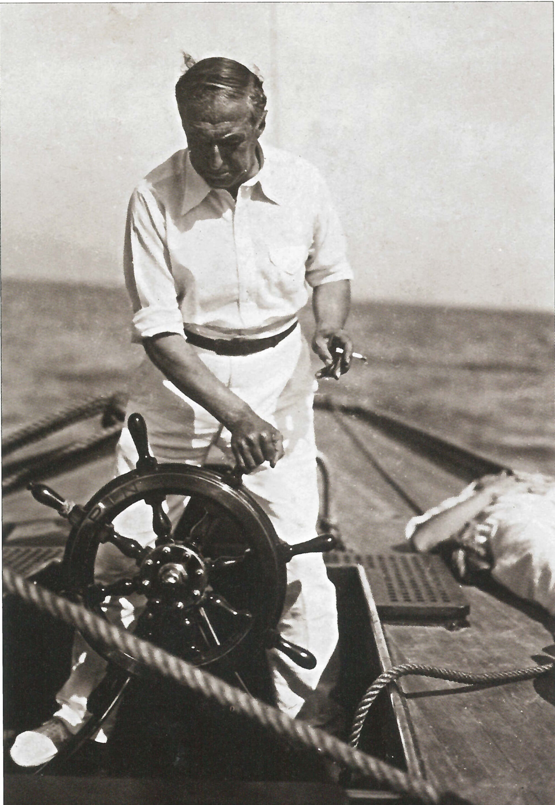1929 – Il Marchese Spinola al timone della Spina