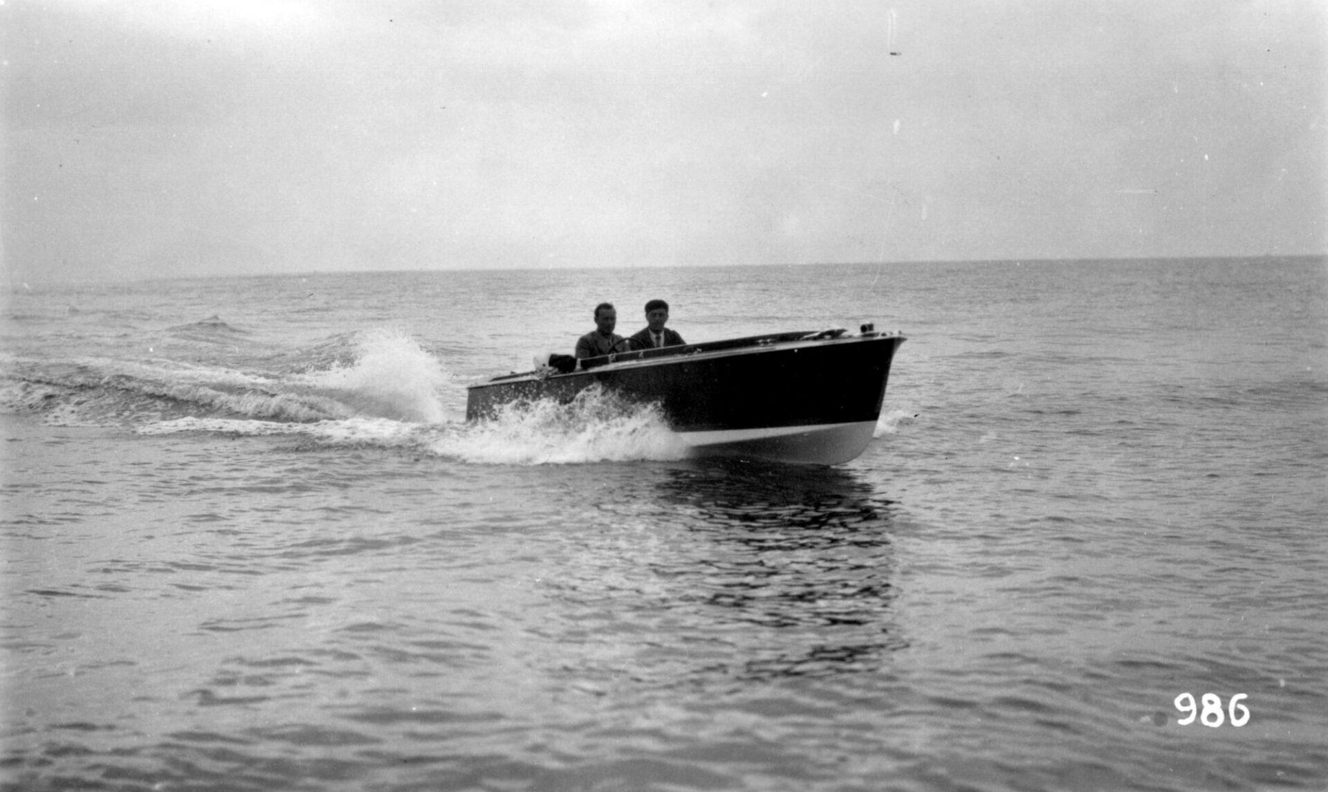1939 – Panda, motoscafo per la regina Elena del Montenegro in prova